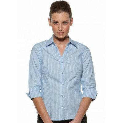 Picture of Glenroy - Fitted 3/4 Sleeve Business Shirt