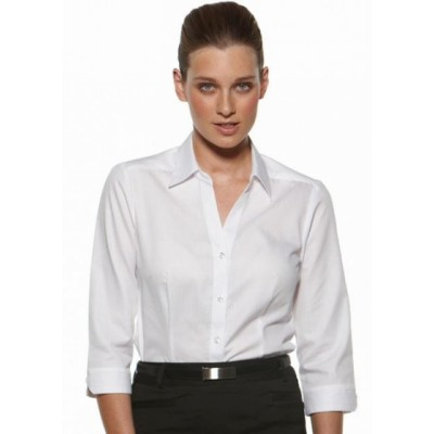 Picture of Serenity - Fitted 3/4 Sleeve Business Shirt
