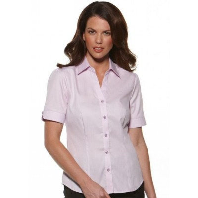 Picture of Serenity - Fitted Short Sleeve Business Shirt