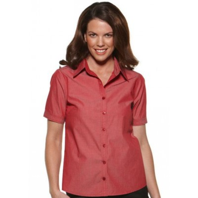 Picture of Model Stripe - Easy Fit Short Sleev Business Shirt