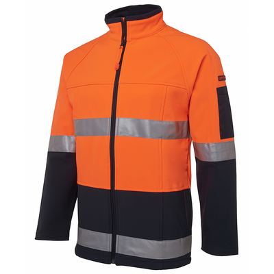 Picture of JBs Hi Vis (D+N) Softshell Jacket