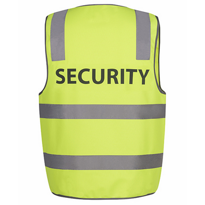 Picture of JBs Hi Vis D+N Safety Vest Security