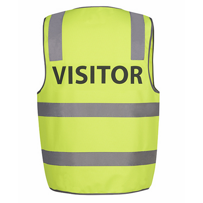 Picture of JBs Hi Vis D+N Safety Vest Visitor