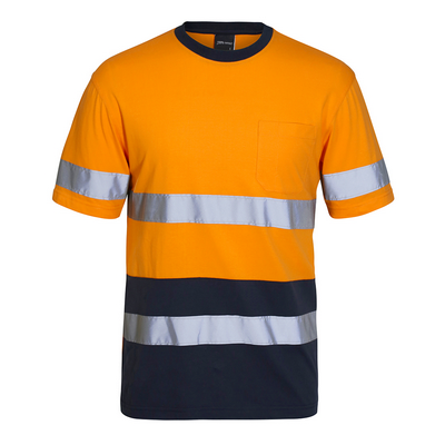 Picture of JBs Hi Vis (D+N) Cotton T-Shirt