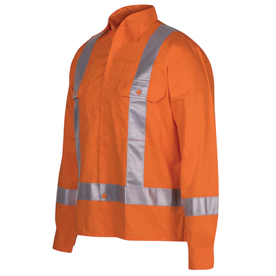Picture of JBs Hi Vis (D+N) L/S 150G Ttmc-W Tape Shirt