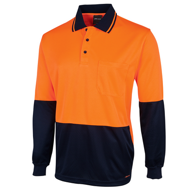 Picture of JBs Hv L/S Jacquard Polo