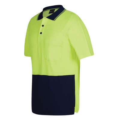 Picture of JBs Hi Vis S/S Bamboo Back Polo