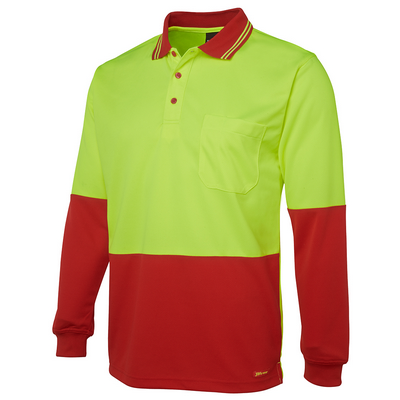 Picture of JBs Hi Vis L/S Trad Polo
