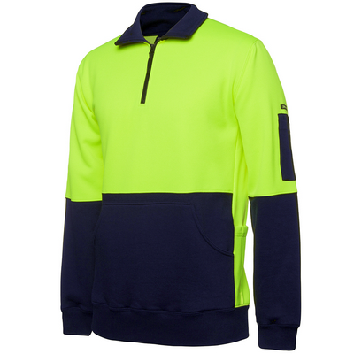 Picture of JBs Hi Vis 330G 1/2 Zip Fleece