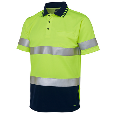 Picture of JBs Hi Vis S/S (D+N) Trad Polo