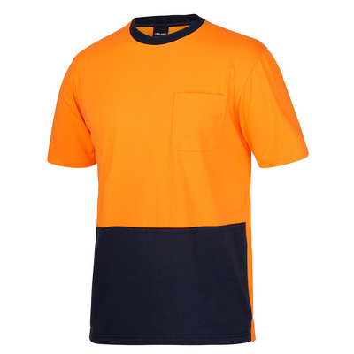 Picture of JBs Hi Vis Crew Neck Cotton T-Shirt