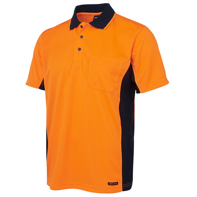 Picture of JBs Hi Vis S/S Sport Polo
