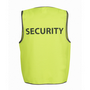 JBs Hi Vis Safety Vest Security