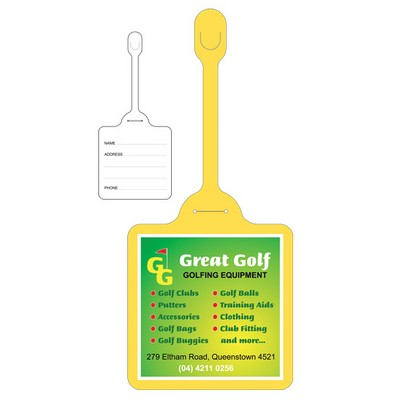 Picture of Bag Tag 100x 100mm