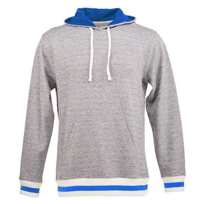 Picture of J.America Peppered Fleece Lapover Hood