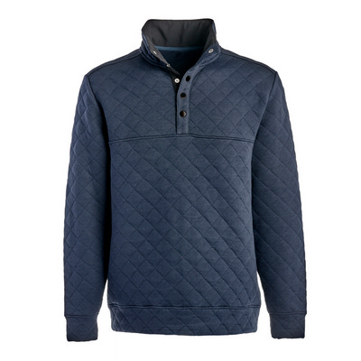 Picture of J.America Quilted Snap Pullover