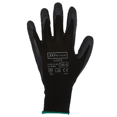 Picture of JBs  Black Latex Glove (12 Pack)