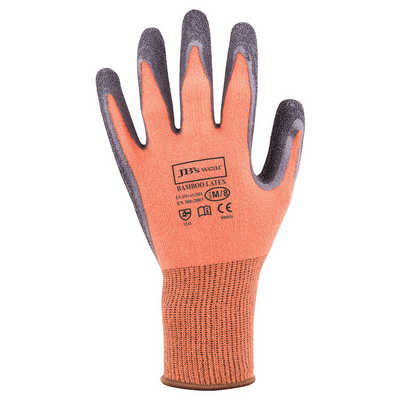 Picture of JBs Bamboo Latex Crinkle 1/2 Dipped Glove