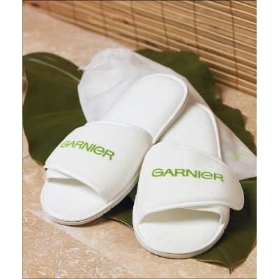 Picture of Spa Bathroom Slippers Adjustable  Velcro