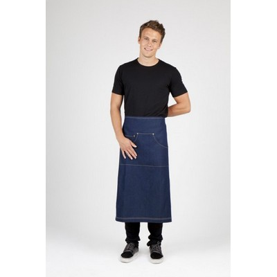 Picture of Yarn dyed  stripe apron