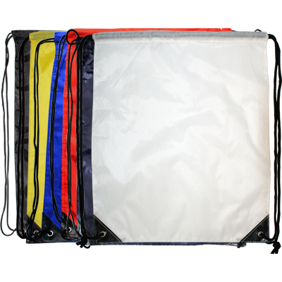 Picture of Nylon Backsack Black