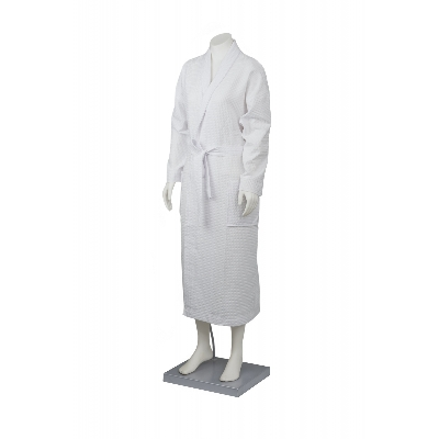 Picture of Waffle Bath robe with collar