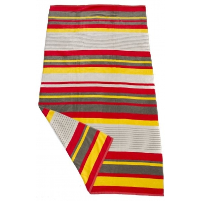 Picture of Bright Stripe Beach Towel