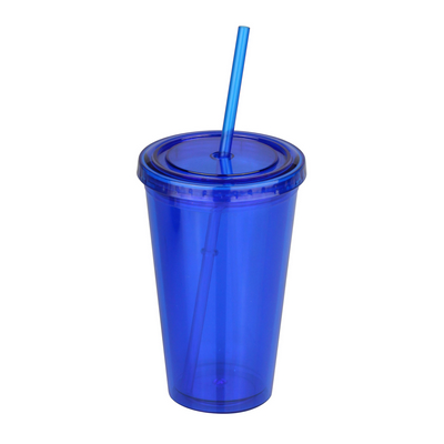 Picture of 500ml Plastic Tumbler with straw