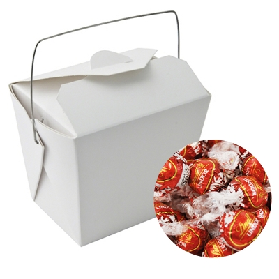 Picture of Paper Noodle Box with Lindor Balls