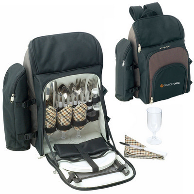 Picture of Kimberley 4 Setting Picnic Backpack Set