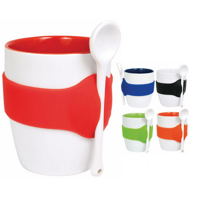 Picture of Geko Coffee Mug with Spoon
