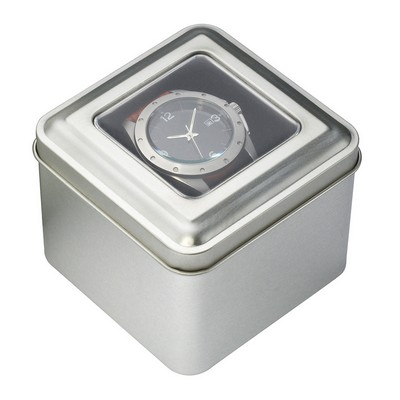 Picture of Square Window Tin