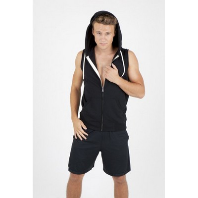 Picture of Mens Sleeveless Hoodie - Greatness Heather Range - F770ZS