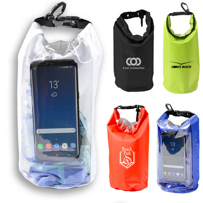 Picture of 2.5 Litre Outdoor Dry Bag with Phone Window