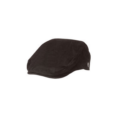 Picture of Black Cotton Twill Drivers Cap