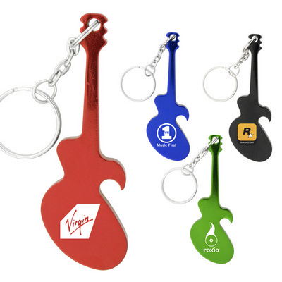 Picture of Guitar Keychain