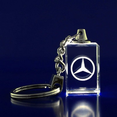 Picture of 3D Crystal Keyring