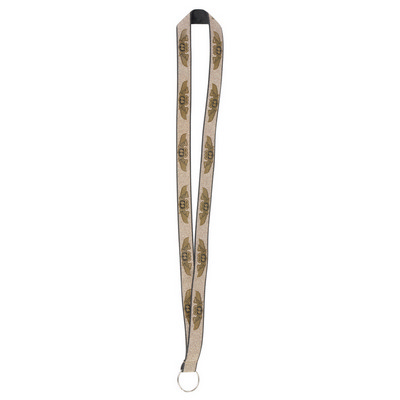 Picture of Glitter Lanyards - 19mm Wide Gold Glitter