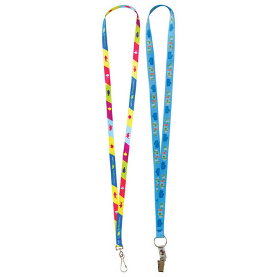 Picture of Sublimation Lanyards - 19mm Wide