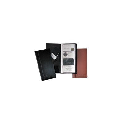 Picture of Greenwich Business Card File-Large (cowhide)