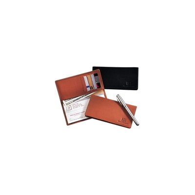 Picture of Walker Street Checkbook Cover (sueded full-grain leather)