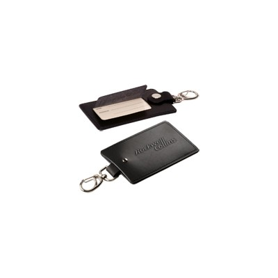 Picture of Freedom Swivel Hook Luggage Tag (silver clasp)