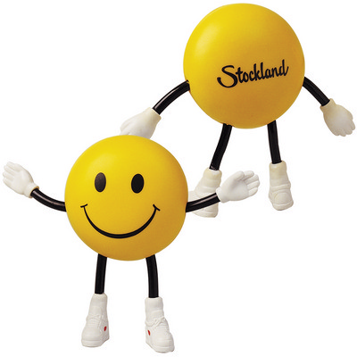 Picture of Smile Guy with Bendy Arms & Legs Stress Reliever