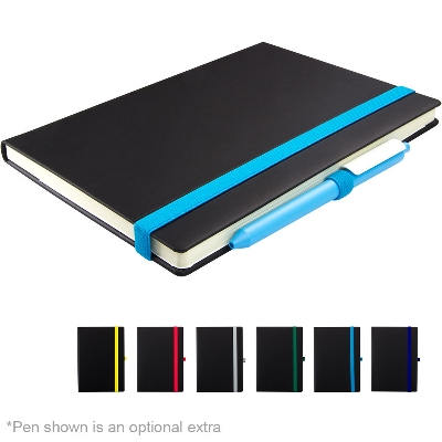 Picture of Lancaster Veleta A5 Notebook with Contrasting Elastic