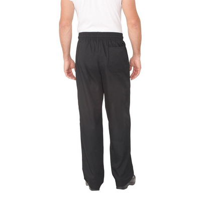 Picture of Black Baggy Chef Pants