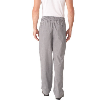 Picture of Small Check Baggy Chef Pants