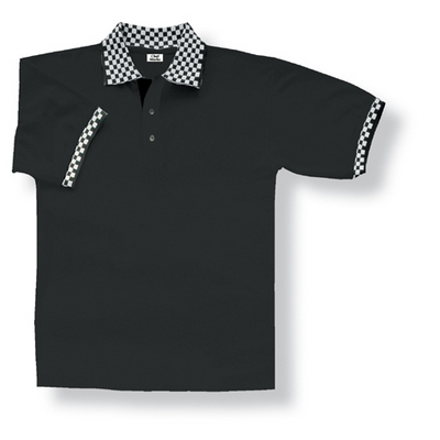 Picture of Traditional Black Polo Shirt