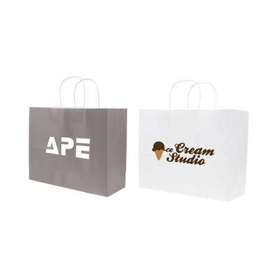 Picture of Twisted Handle Kraft Paper Bag(320x250x120mm)