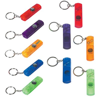 Picture of Light, Compass and Whistle Key Ring