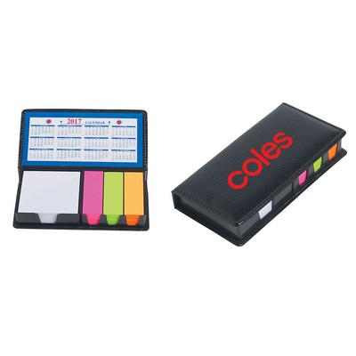 Picture of PU Leather Case Of Sticky Notes With Calendar